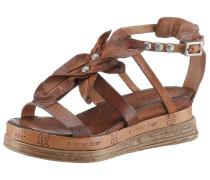 Sandalette karamell