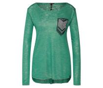 Shirt grün / silber