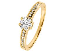 Ring 'Diamonds' gold