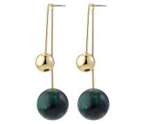 Ohrringe 'Jacinta' gold / grün