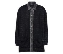 Bluse 'c-Tamu Shirt' schwarz