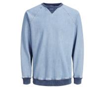 Sweatshirt marine / blue denim