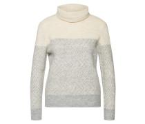 Pullover beige / grau / weiß