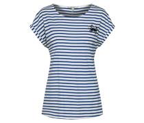 Streifenshirt blau / weiß