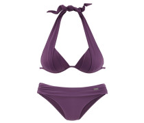 Triangel-Bikini helllila