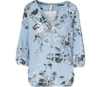 Shirt hellblau / grau