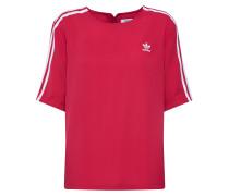 Shirts '3 Stripes Tee' himbeer