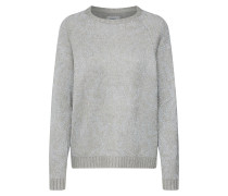Pullover hellgrau / silber
