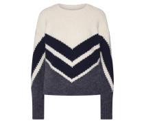 Pullover 'odetta' beige / grau / schwarz