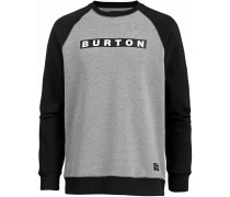 'vault' Sweatshirt grau