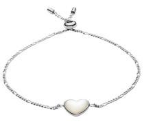 Silberarmband 'Herz' silber