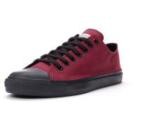 Sneaker dunkelrot / schwarz