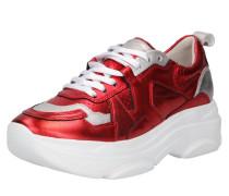 Sneaker 'Cloud' rot / silber