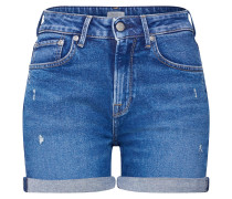 Short 'Mary' blue denim