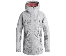 'Tribe' Snowboardjacke hellgrau