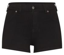 'Kara' Denim Shorts schwarz