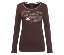 Shirt dunkelbraun / mischfarben