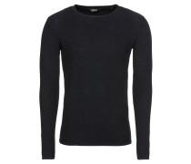 Pullover 'Knit - Jasen' dunkelblau