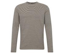 Shirt beige / schwarz