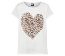 T-Shirt 'heart OF Wild' weiß