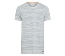 T Shirt blau / weiß