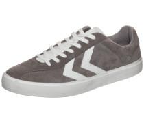 'Diamant Suede' Sneaker grau / weiß