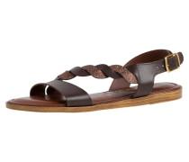 Sandale kastanienbraun / bronze