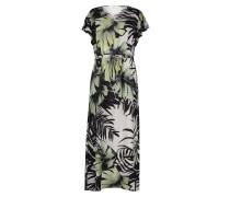 Kleid weiß / grün