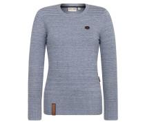 Knit Pullover rauchblau