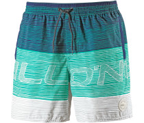 'Stacked' Badeshorts mint / jade