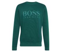 Sweatshirt 'Weave 10212390 01' petrol