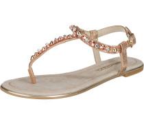 Sandaletten gold