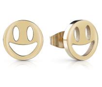 Ohrringe 'youth Tonic Smiley' gold
