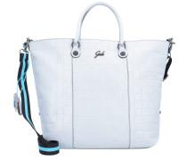 Handtasche 'Gshop' hellgrau