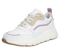 Sneaker '5614' lila / weiß / beige