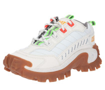 Sneaker 'Intruder' neongrün / weiß