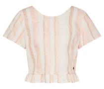 Shirt 'ghost Away' rosa / weiß