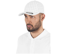 Cap 'Square Check Cap' navy / weiß