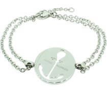 Armband 'Anker' silber