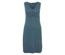 Kleid hellblau / dunkelblau / petrol