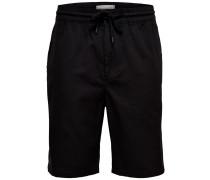 Lange Shorts schwarz