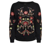 Sweatshirt 'Emilia' mischfarben / schwarz