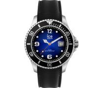 Uhr blau / schwarz