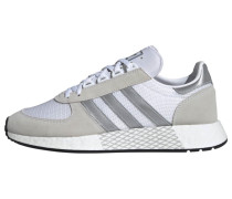 Sneaker grau / silbergrau / weiß