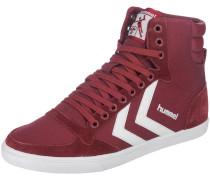 'slimmer Stadil High' Sneakers weinrot