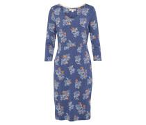 Jerseykleid 'Tess' blau / mischfarben