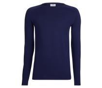 Langarmshirt 'Tender Ted' blau
