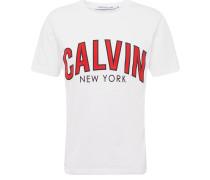 Shirt 'calvin Curved Varsity REG SS'
