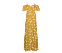 Kleid 'Shoulder Sway' gelb