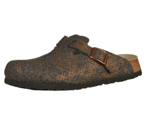 Clogs 'Boston' bronze / grau